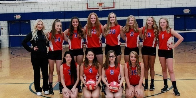 LMS 8th Grade Volleyball