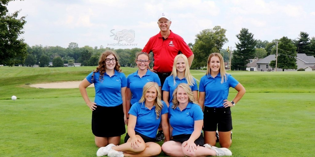 LHS Girl's Golf (Image courtesy of S&F Photography)