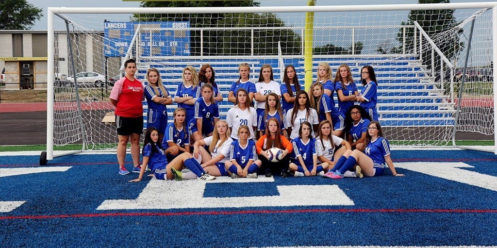 LHS Girl's Soccer (Image courtesy of S&F Photography)