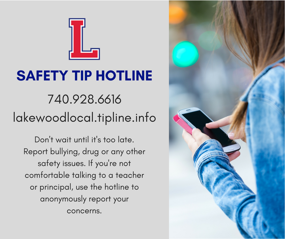 Safety Tip Hotline 740.928.6616