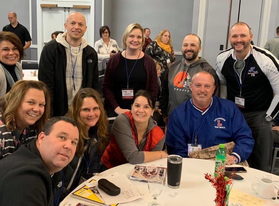 Our high school and middle school teachers and administrators are attending the Ohio School Improvement Institute this week.