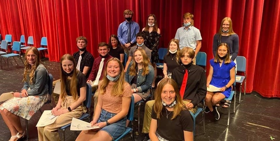 NHS Induction ceremony 2021
